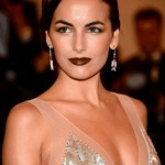 Beauty Look: Dark Lips (Camilla Belle)