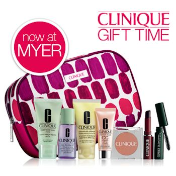 Clinique Gift Time at Myer August 2014
